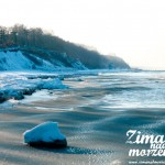Zima nad morzem - Brzeg morza