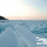 Zima nad morzem bałtyckim - Kry