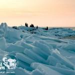 Bałtyk skuty lodem - Kry