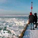Zima nad morzem w Niechorzu