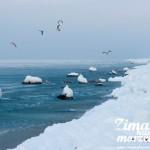 Zima nad morzem - Rewal