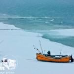 Zima nad morzem - Plaża zimą w Rewalu