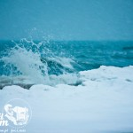 Plaża zimą - Zima nad morzem