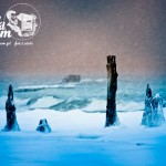 Zima nad morzem Bałtyckim - Rewal Zimą