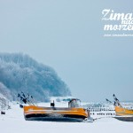 Zima nad morzem - Plaża w Niechorzu