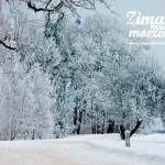 Zima nad morzem - Droga do Latarni Morskiej w Niechorzu