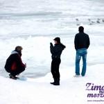 Pobierowo Zimą - Zima nad Bałtykiem