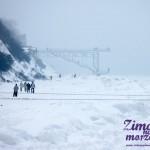 Rewal Zimą - Zima nad Bałtykiem