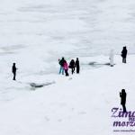 Trzęsacz Zimą - Zima nad Bałtykiem